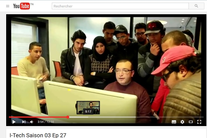 Hour of Code by Orange on I-Tech (Tunisian TV) – You have a